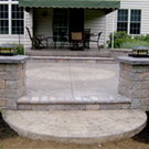 Windy Hill Concrete Stamped Stamped Concrete Patios