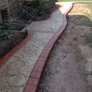 Windy Hill Concrete Stamped Concrete Walkways